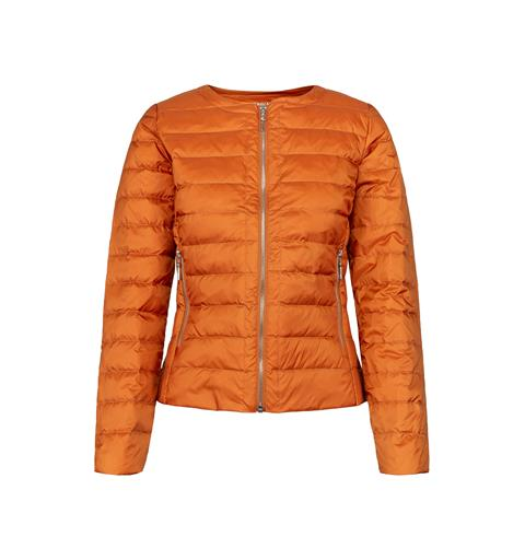 Dunjakke city line orange XXL