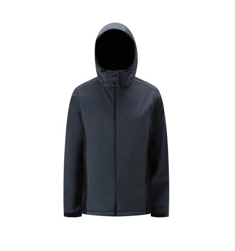 Softshell unisex mørk grå/ sort XL